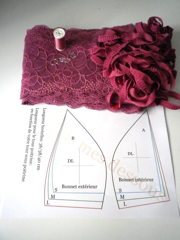 Выкройки нижнее белье из кружева