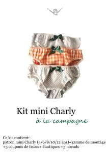 kit mini charly à la campagne