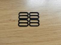 régleurs en métal noir