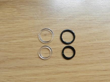 anneaux de régalge en plastique